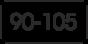 от 90 до 105 см